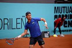 May 6, 2019 - Madrid, Spain - Fabio Fognini (ITA) during day three of the Mutua Madrid Open at La Caja Magica in Madrid on 6th May, 2019. (Credit Image: © Juan Carlos Lucas/NurPhoto via ZUMA Press)