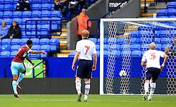 Andre Gray of Burnley scores the opening goal from the penalty spot  - Mandatory by-line: Matt McNulty/JMP - 26/07/2016 - FOOTBALL - Macron Stadium - Bolton, England - Bolton Wanderers v Burnley - Pre-season friendly