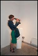 KATHERINE OLIVER, KALEIDOSCOPE edition by  Yinka Shonibare-MBE  studio launch, Multiple Store,  Dalston,  2 October 2014.