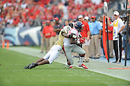 Ole Miss vs. Vanderbilt at L.P. Field in Nashville, Tenn. on Saturday, September 6, 2014. Ole Miss won 41-3.