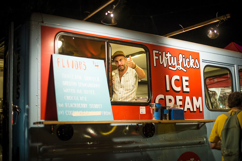 Bill Purcell, Fifty Licks ice cream.