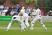 Josh Davey of Somerset batting during the Specsavers County Champ Div 1 match between Somerset County Cricket Club and Nottinghamshire County Cricket Club at the Cooper Associates County Ground, Taunton, United Kingdom on 10 June 2018. Picture by Graham Hunt.