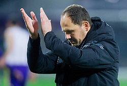 Ante Simundza, head coach of Maribor after the football match between NK Maribor and Sevilla FC (ESP) in 1st Leg of Round of 32 of UEFA Europa League 2014 on February 20, 2014 at Stadium Ljudski vrt, Maribor, Slovenia. Photo by Vid Ponikvar / Sportida