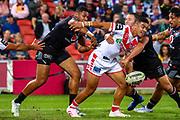 Patrick Herbert. Auckland Warriors v St George Dragons. NRL Rugby League.Magic Round 2019 Suncorp Stadium, Brisbane, New Zealand. May 11, 2019. © Copyright photo: Patrick Hamilton / www.photosport.nz