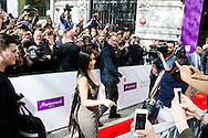 """Kim Kardashianlors de la présentation de sa nouvelle gamme de produit au """"Marionnaud"""" Champs Elysée à Paris<br /> France, Paris, 15 avril 2015."""