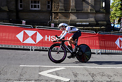 Lucy Mayrhofer (GER) at UCI Road World Championships 2019 Junior Women's TT a 13.7 km individual time trial in Harrogate, United Kingdom on September 23, 2019. Photo by Sean Robinson/velofocus.com