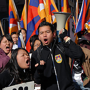 10 March 2008, the 49th anniversary of the Tibetan people's peaceful uprising for their freedom from the Chinese government.  Boycott Bejjing Olympics 2008 March from Chinatown to the United Nations and back to Union Square.
