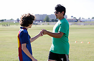 July 18, 2019: OKC Energy FC, in conjunction with Futbol Factory, holds a Kids Club clinic at Lightning Creek Park in Oklahoma City, Oklahoma.