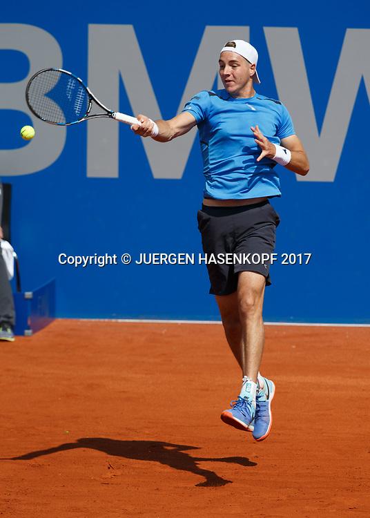 JAN-LENNARD STRUFF (GER)<br /> <br /> Tennis - BMW Open2017 -  ATP  -  MTTC Iphitos - Munich -  - Germany  - 1 May 2017.