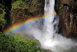 AUSTRALIA QUEENSLAND GIRRINGUN NATIONAL PARK 24FEB08 - Rainbow at the Wallaman Falls in Girringun National Park...jre/Photo by Jiri Rezac..© Jiri Rezac 2008..Contact: +44 (0) 7050 110 417.Mobile:  +44 (0) 7801 337 683.Office:  +44 (0) 20 8968 9635..Email:   jiri@jirirezac.com..Web:    www.jirirezac.com..© All images Jiri Rezac 2008 - All rights reserved.