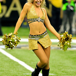 Oct 30, 2016; New Orleans, LA, USA; New Orleans Saints Saintsations perform during the first quarter of a game against the Seattle Seahawks at the Mercedes-Benz Superdome. Mandatory Credit: Derick E. Hingle-USA TODAY Sports