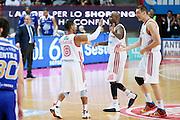 DESCRIZIONE : Varese Lega A 2013-14 Cimberio Varese Acqua Vitasnella Cantu<br /> GIOCATORE : Keydren Clark Ebi Ere Marko Scekic<br /> CATEGORIA : Ritratto Esultanza<br /> SQUADRA : Cimberio Varese<br /> EVENTO : Campionato Lega A 2013-2014<br /> GARA : Cimberio Varese Acqua Vitasnella Cantu<br /> DATA : 15/12/2013<br /> SPORT : Pallacanestro <br /> AUTORE : Agenzia Ciamillo-Castoria/G.Cottini<br /> Galleria : Lega Basket A 2013-2014  <br /> Fotonotizia : Varese Lega A 2013-14 Cimberio Varese Acqua Vitasnella Cantu<br /> Predefinita :