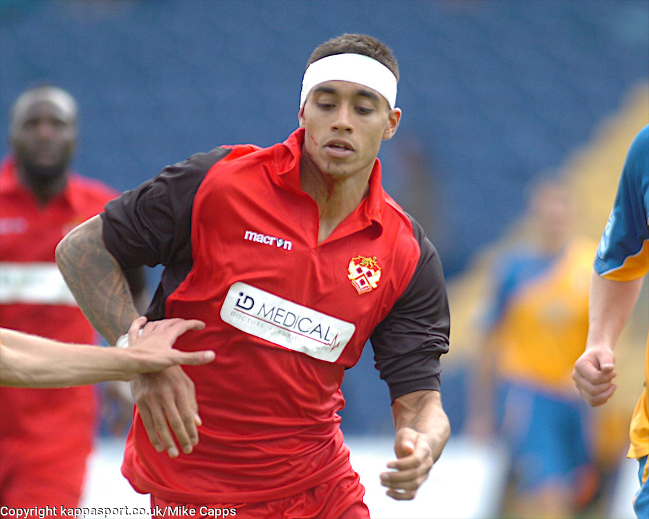 AMAN VERMA, KETTERING TOWN, Mansfield Town v Kettering Town, Blue Square Premier Field Mill, Saturday 27th August 2011
