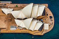 Sydney Opera House, Overhead