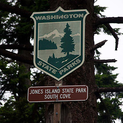 Jones Island, San Juan Islands, Washington, US