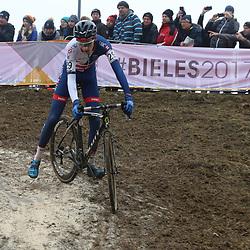 27-01-2017: Wielrennen: Wereldkampioenschap veldrijden: Luxemburg<br />BIELES (LUX) cyclocross  <br />Ben Turner