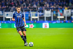 November 6, 2019, Milano, Italy: berat djimsiti (atalanta bc)during Tournament round, group C, Atalanta vs Manchester City, Soccer Champions League Men Championship in Milano, Italy, November 06 2019 - LPS/Fabrizio Carabelli (Credit Image: © Fabrizio Carabelli/LPS via ZUMA Wire)
