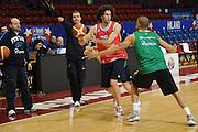 MILANO 12 MARZO 2011<br /> BASKET ALL STAR GAME<br /> ALLENAMENTO NAZIONALE ITALIANA<br /> NELLA FOTO DATOME<br /> FOTO CIAMILLO CASTORIA