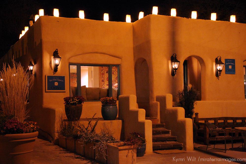 North America, USA, New Mexico, Santa Fe. Inn of Five Graces Reception