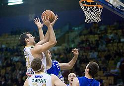 Vladimir Golubovic of Olimpija at third finals basketball match of Slovenian Men UPC League between KK Union Olimpija and KK Helios Domzale, on June 2, 2009, in Arena Tivoli, Ljubljana, Slovenia. (Photo by Vid Ponikvar / Sportida)
