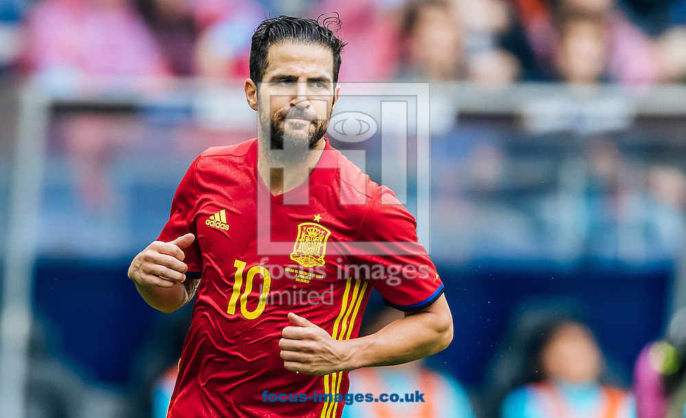 Cesc Fabregas of Spain during the International Friendly match at Red Bull Arena, Salzburg<br /> Picture by EXPA Pictures/Focus Images Ltd 07814482222<br /> 01/06/2016<br /> ***UK &amp; IRELAND ONLY***<br /> (filename}