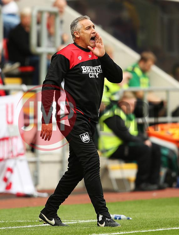 Bristol City Assistant Manager John Pemberton shouts - Mandatory by-line: Matt McNulty/JMP - 10/09/2016 - FOOTBALL - Aesseal New York Stadium - Rotherham, England - Rotherham United v Bristol City - Sky Bet Championship