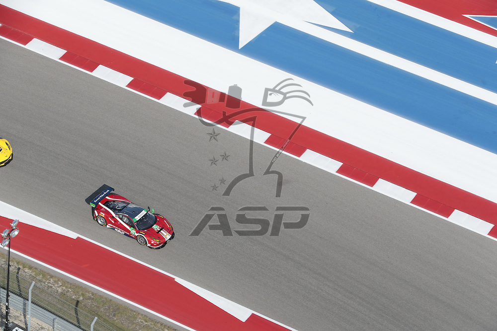 Austin, TX - Sep 15, 2016:  The IMSA WeatherTech SportsCar Championship teams take to the track for a practice session for the Lone Star Le Mans at Circuit of the Americas in Austin, TX.