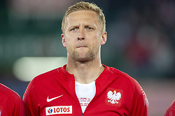 March 21, 2019 - Vienna, Austria - Kamil Glik of Poland pictured during the UEFA European Qualifiers 2020 match between Austria and Poland at Ernst Happel Stadium in Vienna, Austria on March 21, 2019  (Credit Image: © Andrew Surma/NurPhoto via ZUMA Press)