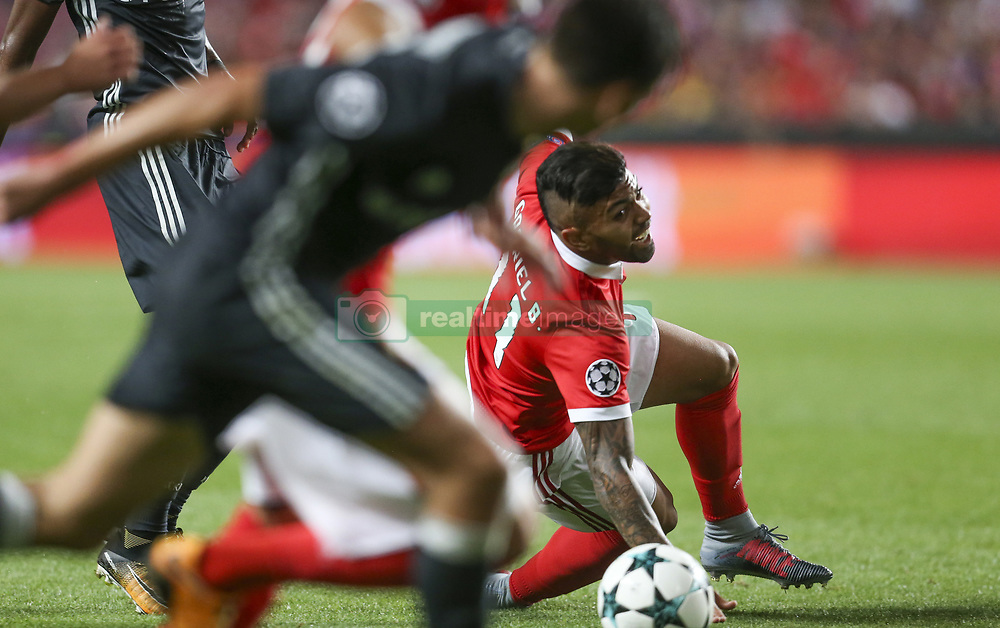 September 12, 2017 - Na - Lisbon, 12/09/2017 - SL Benfica received the CSKA of Moscow tonight in the stadium of Luz, in game to count for the first day of Group A of the group stage of the 2017/18 Champions League. Gabriel  (Credit Image: © Atlantico Press via ZUMA Wire)