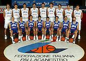 Posati Squadra Preolimpica 2004