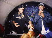 Goldie and MC, late 80s early 90s