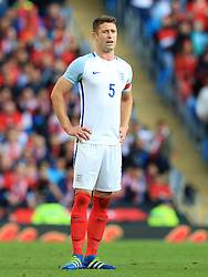 Gary Cahill of England - Mandatory byline: Matt McNulty/JMP - 07966386802 - 22/05/2016 - FOOTBALL - Etihad Stadium -Manchester,England - England v Turkey - International Friendly