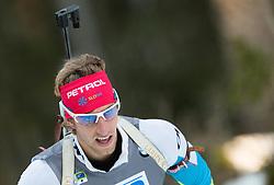 OBLAK Lenart (SLO) competes during Men 10 km Sprint at day 2 of IBU Biathlon World Cup 2014/2015 Pokljuka, on December 19, 2014 in Rudno polje, Pokljuka, Slovenia. Photo by Vid Ponikvar / Sportida