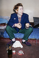 John Lydon, a.k.a. Johnny Rotten, singer with new wave group Public Image Limited (PIL), circa 1978.