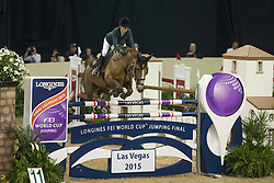 Alexander Edwina, (AUS), Fairlight <br /> Longines FEI World Cup™ Jumping Final I<br /> Las Vegas 2015<br />  © Hippo Foto - Dirk Caremans<br /> 17/04/15