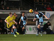 Peter Murphy during the Sky Bet League 2 match between Wycombe Wanderers and Burton Albion at Adams Park, High Wycombe, England on 17 November 2014.