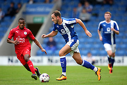 Dan Gardner of Chesterfield attacks - Mandatory by-line: Matt McNulty/JMP - 02/08/2016 - FOOTBALL - Pro Act Stadium - Chesterfield, England - Chesterfield v Leicester City - Pre-season friendly