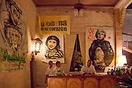 Paladar Cafe Madrigal, Havana Vedado, Cuba.