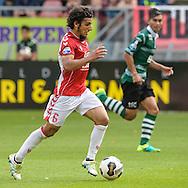 25-09-2016: Voetbal: FC Utrecht v Sparta Rotterdam: Utrecht<br /> <br /> (L-R) FC Utrecht speler Yassin Ayoub tijdens het Eredivsie duel tussen FC Utrecht en Sparta in stadion Galgenwaard te Utrecht op 25 september tijdens speelronde 7<br /> <br /> Eredivisie - Seizoen 2016 / 2017<br /> <br /> <br /> Foto: Gertjan Kooij