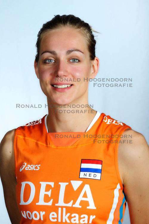 31-08-2009 VOLLEYBAL: NEDERLANDS VROUWEN VOLLEYBAL TEAM: AMSTERDAM<br /> Caroline Wensink<br /> &copy;2009-WWW.FOTOHOOGENDOORN.NL