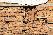 Pitangui_MG, Brasil...Detalhe de Casa de Pau a Pique em Pitangui, Minas Gerais..Detail of a House made of Pau a Pique in Pitangui, Minas Gerais..Foto: LEO DRUMOND / NITRO
