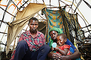 In camps, families demonstrate strength and creativity to manage an acceptable life.