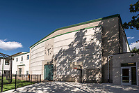Architectural image of Maret School Athletic and Wellness Center in Washington DC by Jeffrey Sauers of Commercial Photographics
