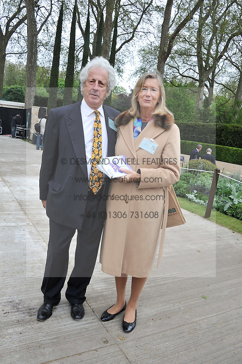 SIR MARTYN & LADY ARBIB at the 2012 RHS Chelsea Flower Show held at Royal Hospital Chelsea, London on 21st May 2012.