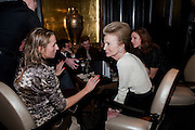 LEE RADZIWILL , Nicky Haslam with pianist Paul Guinery performing songs by Cole Porter, Irving Berlin, Rogers and Hammerstein  and others at th BEAUFORT BAR? SAVOY- 8.P.M.