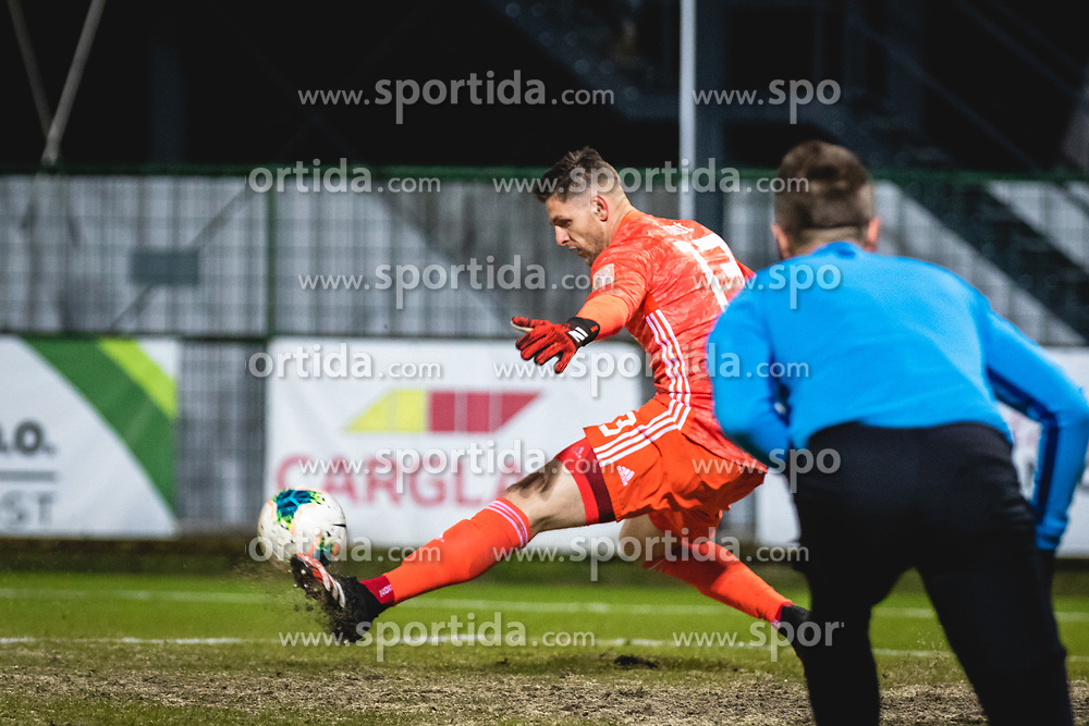 Kenan Pirić of Maribor during football match between NŠ Mura and NK Maribor in 22nd Round of Prva liga Telekom Slovenije 2019/20, on February 26, 2020 in Fazanerija, Murska Sobota, Slovenia. Photo by Blaž Weindorfer / Sportida