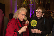 PENNY SNELL; CATHERINE HORWOOD, Fashion and Gardens, The Garden Museum, Lambeth Palace Rd. SE!. 6 February 2014.