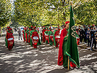 Independence Day Celebrations in Ifrane, known as the Little Switzerland of Morocco.