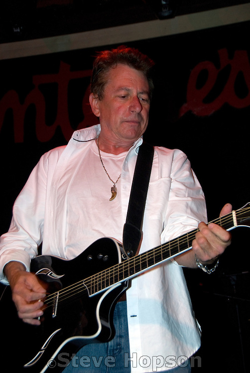 "Joe Ely at the benefit for Jesse ""Guitar"" Taylor at Antone's in Austin Texas, April 10, 2008."