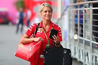 Britta Roeske addetta stampa Vettel<br /> Monza 30-08-2018 GP Italia <br /> Formula 1 Championship 2018 <br /> Foto Federico Basile / Insidefoto